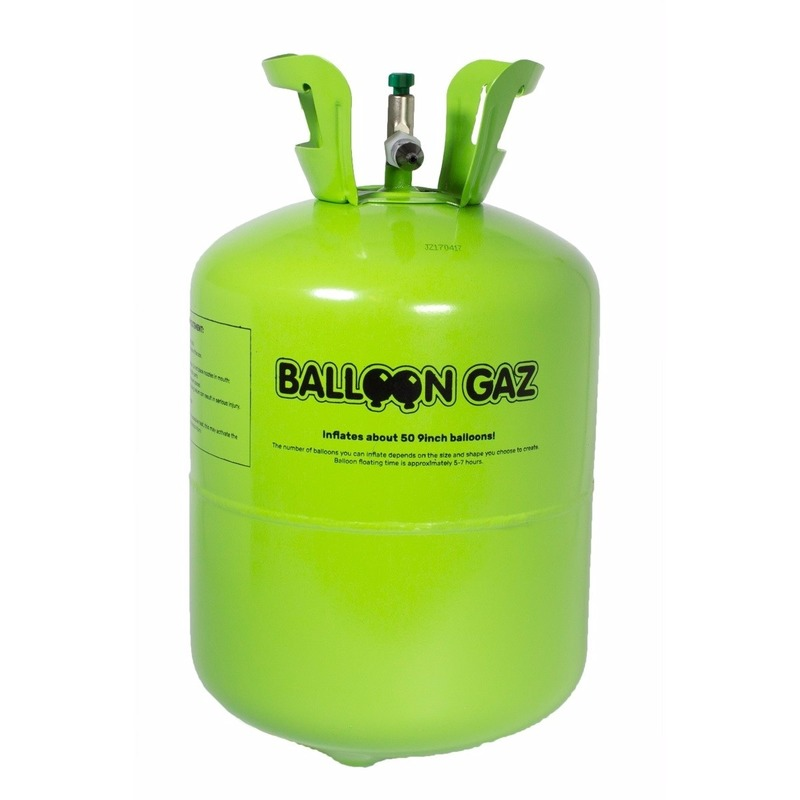Balloon Gaz Helium tank voor 50 latex ballonnen online kopen