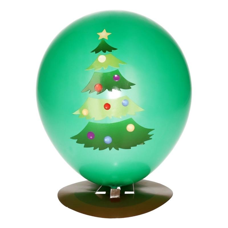 Merkloos Kerstboom ballon versieren 27 cm online kopen