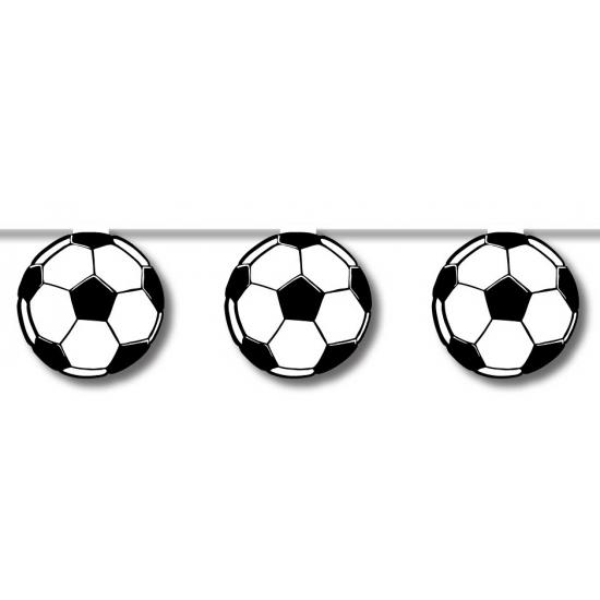 Merkloos Vlaggenlijn voetbal 5 meter online kopen